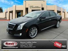 You can almost feel the raw power of this Cadillac XTS in Jet Black. #CadillacLife #CadillacDriven #XTS #MasseyCadillac #Dallas #Texas