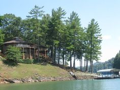 Watauga Dam On The Appalachian Trail Near Watauga Lake In