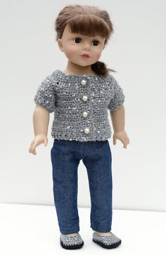 18 Inch Doll Sweater, American Girl, Doll Clothes, Gift