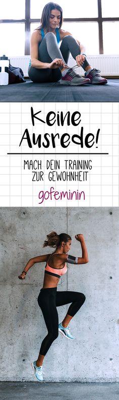 Mach dein Training zur Gewohnheit und gewinne dadurch endlich den Kampf gegen deinen inneren Schweinehund.