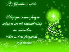 Irish Blessings and Good Luck Sayings | Irish blessing, Blessings ...