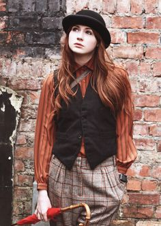 ~ Karen Gillan from Not Another Happy Ending. Which I am soooo excited to watch