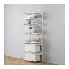 ALGOT Wall upright/shelves/box IKEA The parts in the ALGOT series can be combined in many different ways and easily adapted to your needs and space.