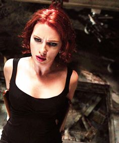 Natasha Romanoff / Black Widow - Scarlett Johansson - The Avengers
