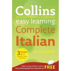 This book provides your kid with all the tools needed to succeed in Italian studies. Book contains the content of three separate Collins Italian learning books namely.