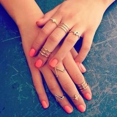 MIDI RINGS - bought some of these in Claires today