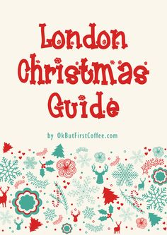 32 places to visit in London this Christmas. Guide includes: addresses, online booking links and maps. Want to know the best London Christmas Markets or Ice Skating Rinks? Just click through this blog post and sign up for free. <3
