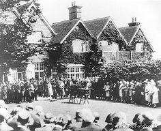 Sir Arthur Conan Doyle funerals at Windlesham.