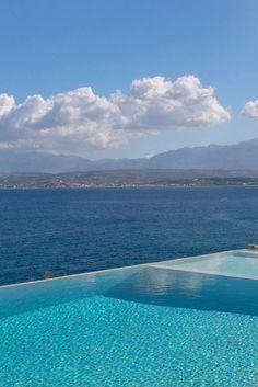 Villa Infinity Blue in Loutraki, Chania, Crete