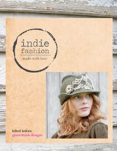 My Rustic Hand Felted Trilby Hat was featured in: Indie lovely holiday 2014