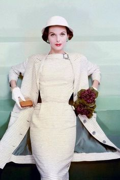 Anne St. Marie // Vogue January 1955