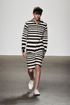 Mark McNairy unveiled his Spring/Summer 2015 collection during New York Fashion Week