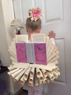 Book Fairy world book day DIY kids fun costume