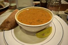 Turkish Food (lentil soup-chorba) Istanbul, Turkey October, 2015 ESLVentures.com