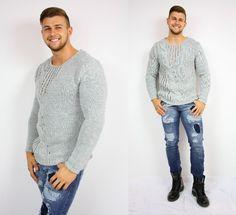Men Sweater, Joy, Sweaters, Fashion, Moda, Fashion Styles, Glee, Men's Knits, Sweater