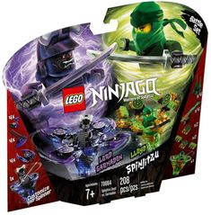 Empower your child to get creative with this LEGO Ninjago Spinjitzu Lloyd vs Garmadon Ninjago Lego Sets, Ninjago Kai, Ninjago Party, Lego Ninjago Minifigures, Carte Pokemon Rare, Ninjago Spinjitzu, Ninja Battle, The Good Son, Spinner Toy