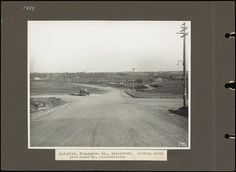 Kingsgrove Road, Canterbury. Looking south from Homer St. Intersection. 1934. Courtesy State Records NSW.