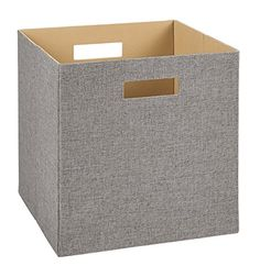 Beau Fabric Cube Storage Bin Woodgrain   Pillowfort | Storage Bins, Boy Room And  Target