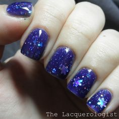 KBShimmer Snow Flaking Way