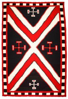Navajo Germantown Weaving, c. 1890