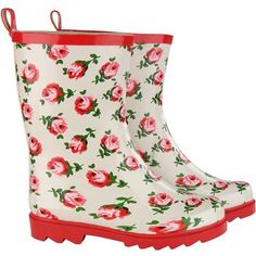 cath kidson kids wellingtons for working in their garden