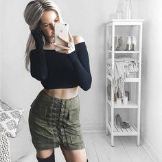 2016 Women Autumn Soft Suede Skirt Lace Up Vintage Gray Slim High Waist Pink Short Skirts Black Winter Pencil Bodycon Skirt