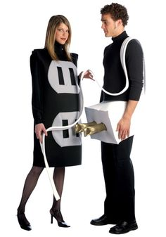 Funny!! My hubby n I dressed like this last Halloween n we won 1st prize! The costume is easy to make n everyone loved it!