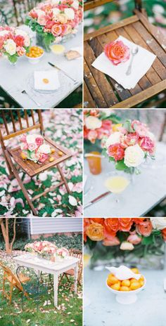 Spring Tablescape By Style Me Pretty