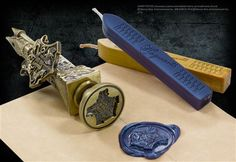 Hogwarts Wax Seal at noblecollection.com