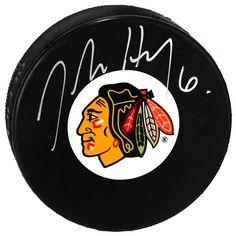 Jordan Hendry Chicago Blackhawks Fanatics Authentic Autographed Hockey Puck - $9.49
