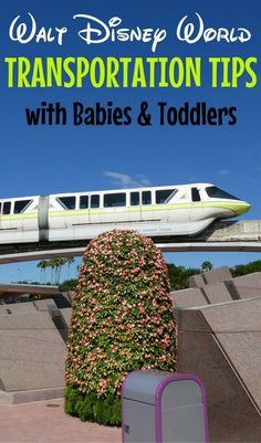 Transportation tips for Walt Disney World with Babies & Toddlers: From monorails to the Magical Express, find out the best advice for getting around the Disney theme parks with a stroller-age child in tow.