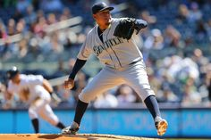39a6b81248b Felix Hernandez ties Randy Johnson for most strikeouts in Seattle Mariners  history