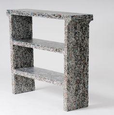 Recycled magazine furniture by designer Jens Praet http://www.jenspraet.com/SJP.html