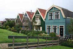 Huizen op de Utrechtseweg ,Weesp