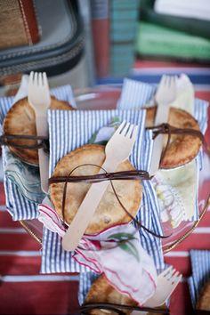 Personal Pies, ADORABLE! via Southern Weddings Magazine #fall