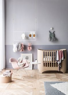 "modern baby nursery girl great selection of modern furniture with a ""baby"" accessories Valentina's room colour Baby Bedroom, Nursery Room, Girl Nursery, Girl Room, Kids Bedroom, Nursery Decor, Kids Rooms, Blush Nursery, Nursery Ideas"
