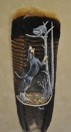 Custom Feather Art By Melissa Ball
