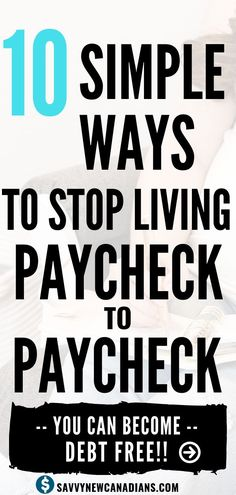 Want to pay off your debts and stop living paycheck to paycheck? I show you how to become debt free fast using 10 simple steps. This is one of the best guides you will find for achieving debt freedom! Read now and also PIN for later! Budgeting Finances, Budgeting Tips, Ways To Save Money, Money Saving Tips, Money Tips, Money Budget, Money Hacks, Faire Son Budget, Debt Free Living