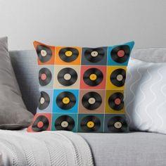 Album,Vinyl Record,Music Poster Throw Pillow Case Personalized Pillow Cases, Custom Pillow Cases, Throw Pillow Cases, Custom Pillows, Pillow Covers, Throw Pillows, Guest Room Decor, Vinyl Records, Original Art