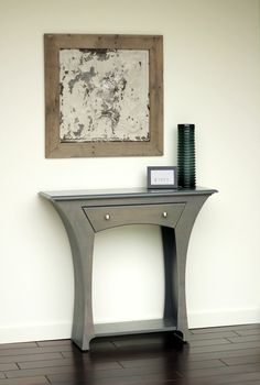 Table No.4 - 41inch Wide Version in Slate Stain