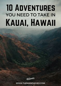 In this post, we're sharing our favorite things to do in Kauai – all inclusive with gorgeous beaches, stunning vistas, and breathtaking waterfalls! This post has everything you need to have the adventure of a lifetime in Hawaii! Kauai Vacation, Hawaii Honeymoon, Hawaii Travel, Beach Trip, Travel Usa, Honeymoon Ideas, Beach Travel, Vacation Travel, Italy Vacation