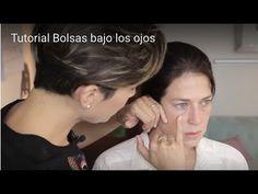 ¿Cómo camuflar las Bolsas bajo los ojos? :: Tutorial de maquillaje - YouTube