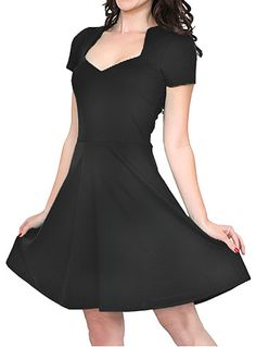 LOVE LOVE LOVE this dress!!!  if only I had someplace to wear it to  Va-Voom Vixen Dress in Black at ShopPlasticland.com