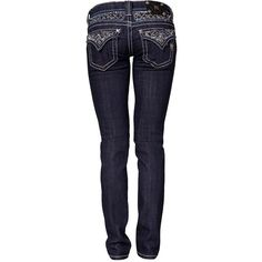 Miss Me Adele Jeans ($175) ❤ liked on Polyvore