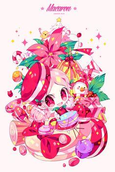 담아간 이미지 고유 주소 Kawaii Chibi, Cute Chibi, Anime Chibi, Kawaii Anime, Character Concept, Character Art, Character Design, Cookie Run, Chibi Characters