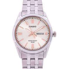 Casio Quartz, 49er, Young Fashion, Stainless Steel Case, Quartz Watch, Michael Kors Watch, Chronograph, Female Models, Watches For Men