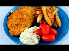 How to Make Crispy Homemade Oven Baked Fish and Chips Video Recipes Seafood Dishes, Fish And Seafood, Homemade Fish And Chips, Air Fried Fish, Oven Baked Fish, Fisher, Special Recipes, Fish Recipes, Healthy Dinner Recipes