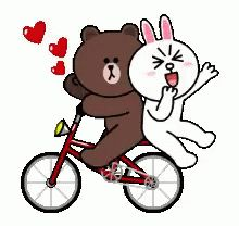 With Tenor, maker of GIF Keyboard, add popular Brown animated GIFs to your conversations. Cute Bunny Cartoon, Cute Couple Cartoon, Cute Couple Art, Cute Love Cartoons, Cute Love Gif, Cute Love Pictures, Bear Gif, Cony Brown, Cute Bear Drawings