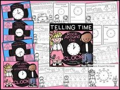 Are you teaching your students how to tell time? This product will help your students learn to tell time to the nearest hour, half hour, quarter hour, and five minutes. Students will also practice identifying a.m. and p.m.. Answer keys are included for al