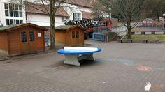 Pingpongtafel Rond Blauw bij Grundschule am Königsberg in Wolfstein